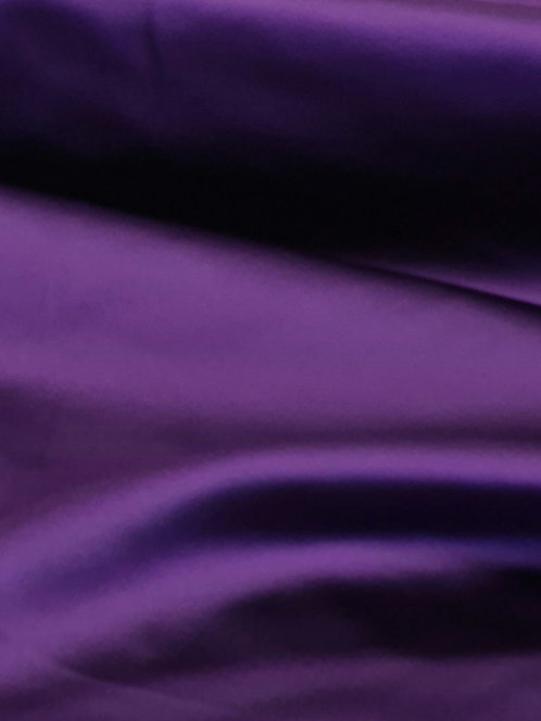 Acetate Stretch Satin Purple