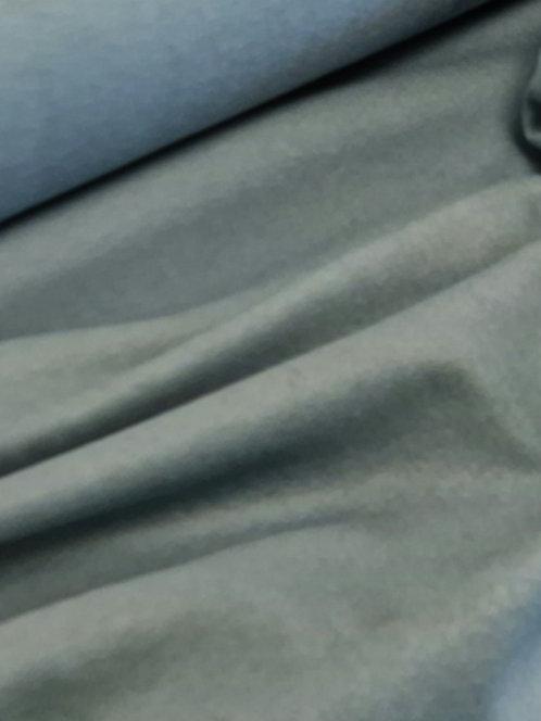 Wool/Viscose Coating Duckegg Blue