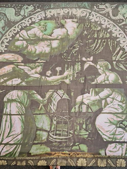 Sistine Silk Chiffon Panel
