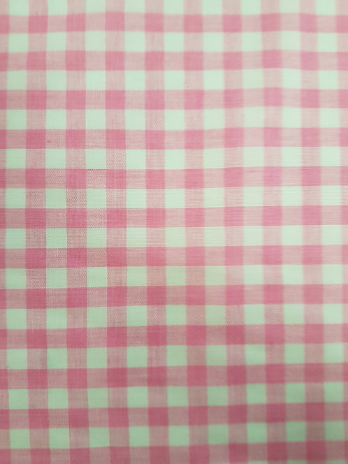 Gingham 1/4 inch Pink