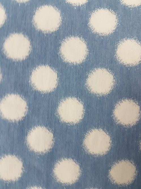 Spotty Printed Cotton Chambey