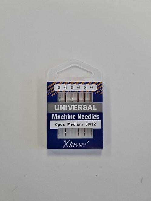 Klasse Machine Needles 80/12 Medium