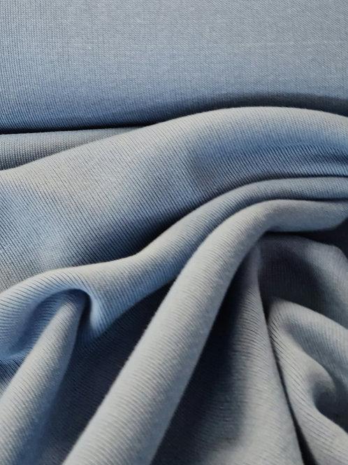 Rib Knit Pale Blue 150cm circular