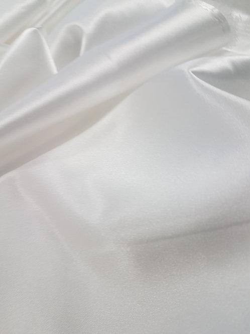 Silky Stretch Satin Ivory