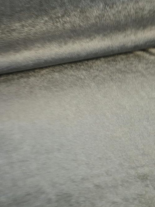 Plush Spun Stretch Velvet Silver