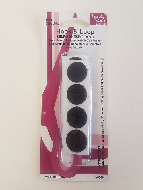 Velcro Dots Hook & Loop Self Adhesive