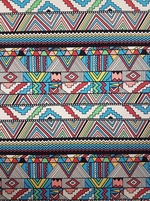 Aztec Cotton Canvas