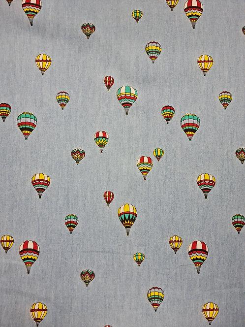 Hot Air Printed Cotton Chambray
