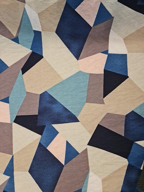 Cryo Rayon/Nylon Faille Blue