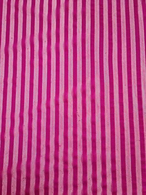 Sheer Mesh Stripe Pink