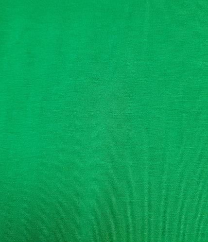 Cotton Spandex Tee Shirting Emerald