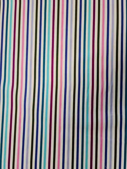 Candy Stripe Cotton Print