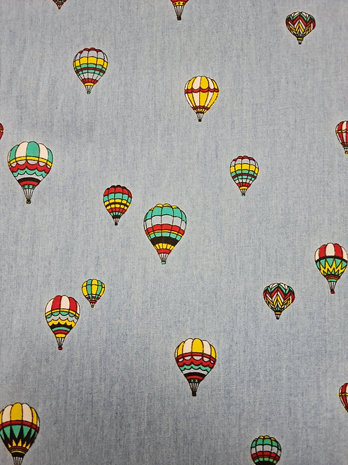 Fly Away 100% Cotton Chambray