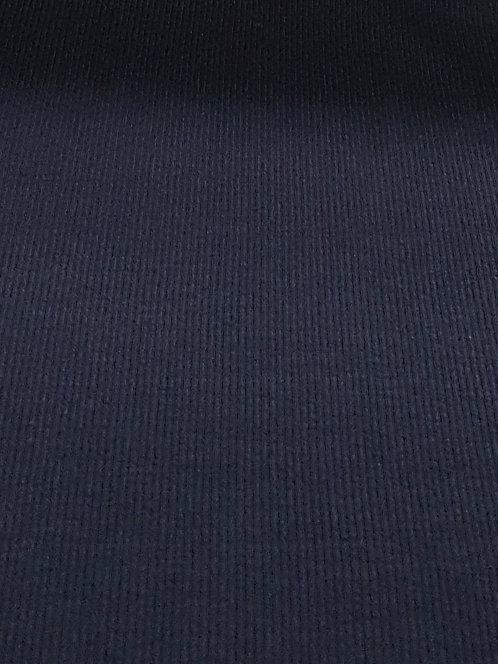 Cotton Rib Knit Navy