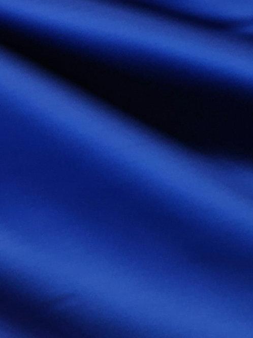 Acetate Stretch Satin Royal Blue
