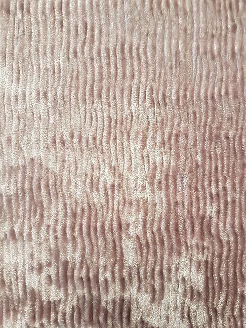 Luxe Crinkle Stretch Velevet Dusky Pink