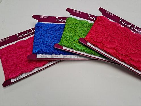 Nylon Lace Trims 13mm wide