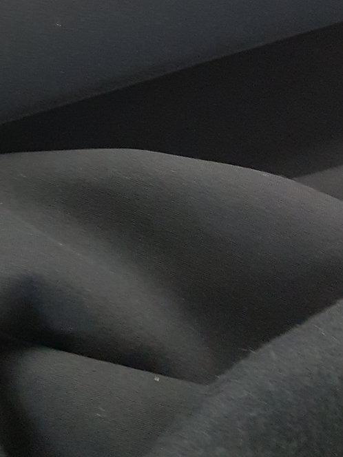 Brushed Sweatshirting Black