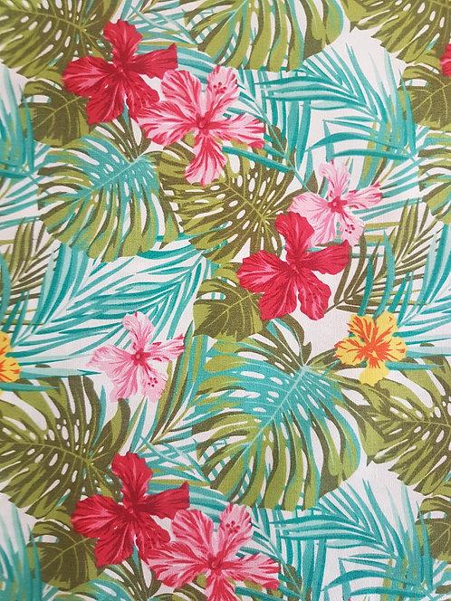 Petite Cotton Print Tropical
