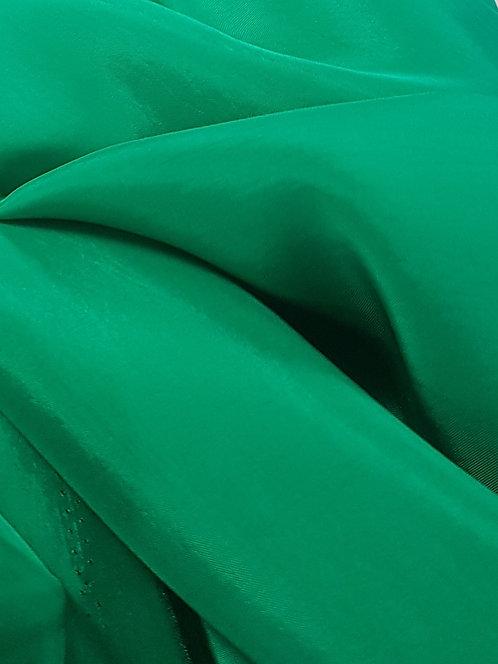 Luxe Viscose Satin Emerald