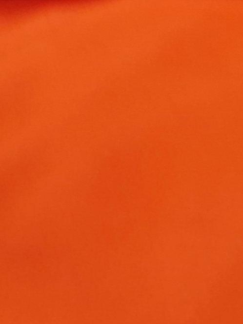 Valentina Microfibre Crepe de Chine Orange