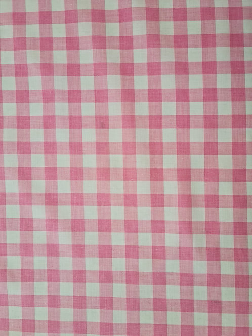 Gingham 1/2 Inch Pink