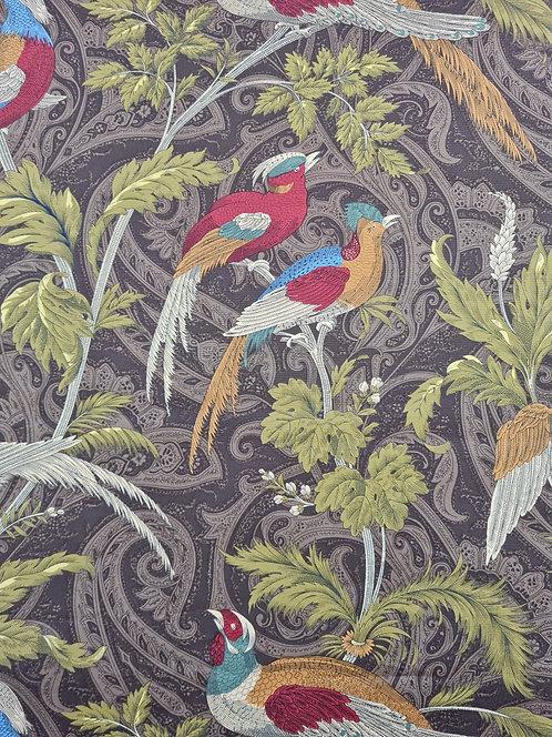Love Birds Cotton Canvas