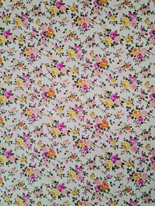 Mini Rose Cotton Poplin Blush