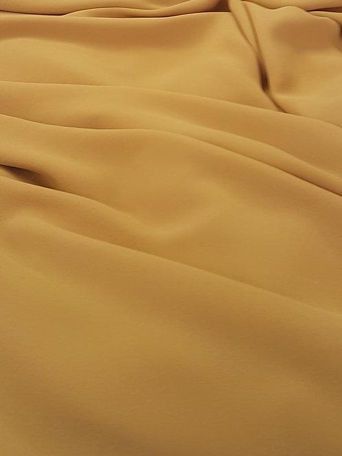Polyester Georgette Mustard