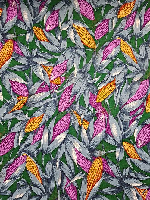 Corny Cotton Voile Green