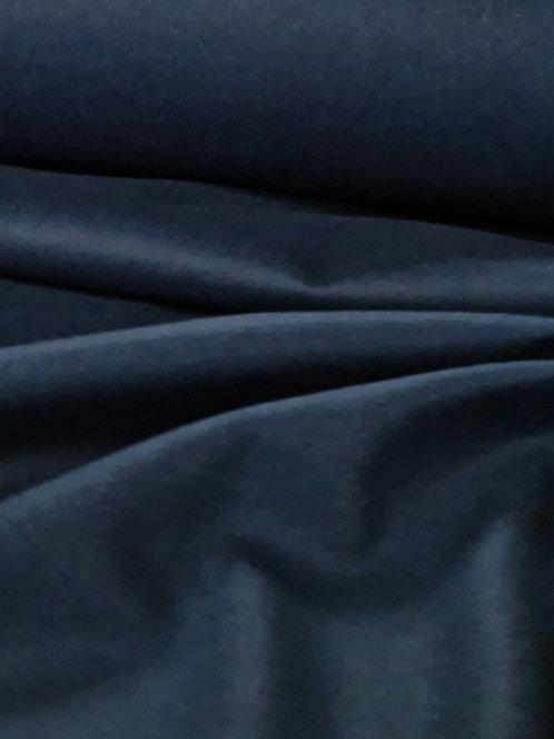 Wool/Viscose Coating Navy