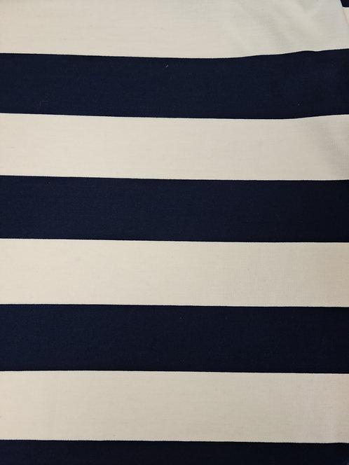 Rocco Wide Ponti Stripe Navy/White