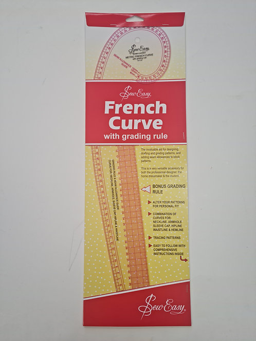 French Curve With Grading Tool