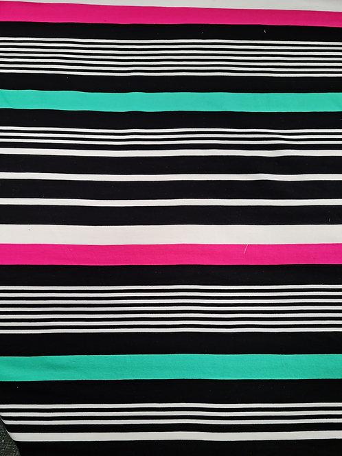 Super Stripe Heavy Ponti Knit