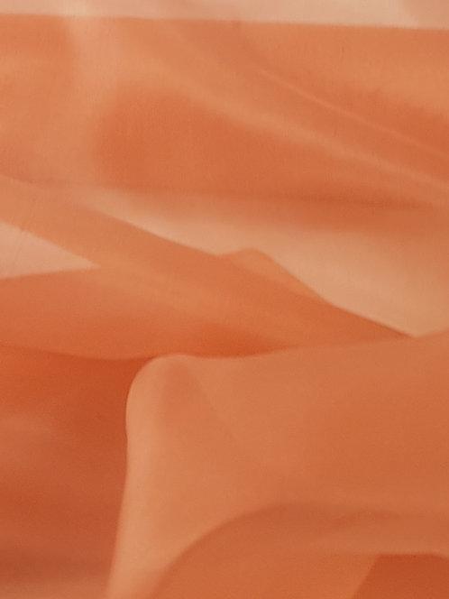 Silk Organza Apricot