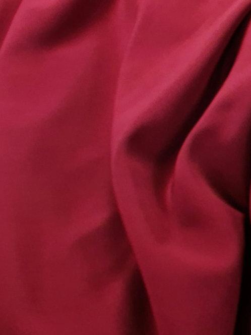 Valentina Microfibre Crepe de Chine Burgandy