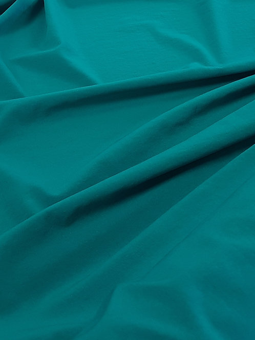 Stretch Crepe De Chine Teal