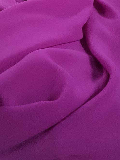Polyester Chiffon Magenta