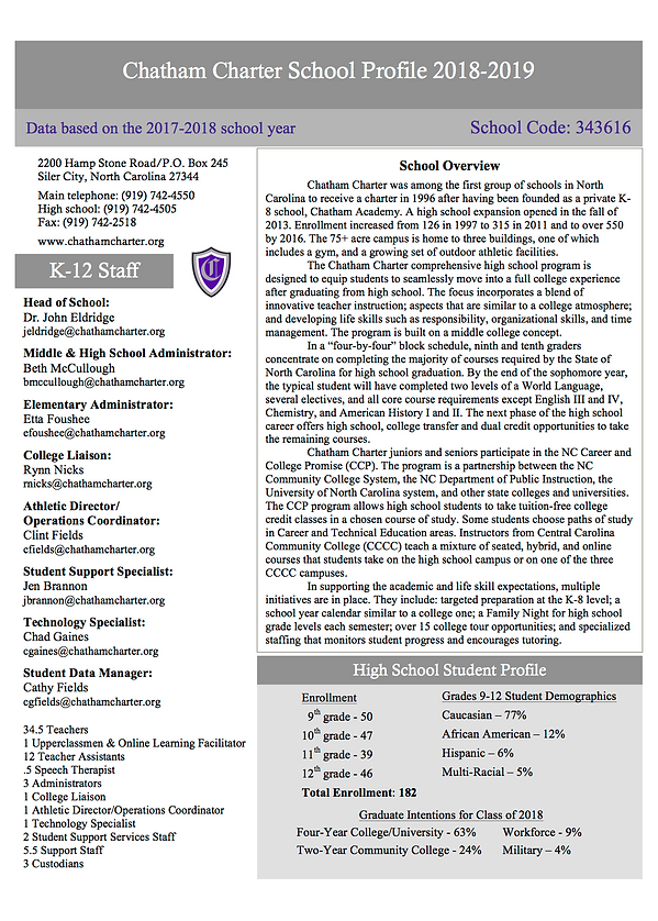 Chatham Charter school profile 2018-2019.png