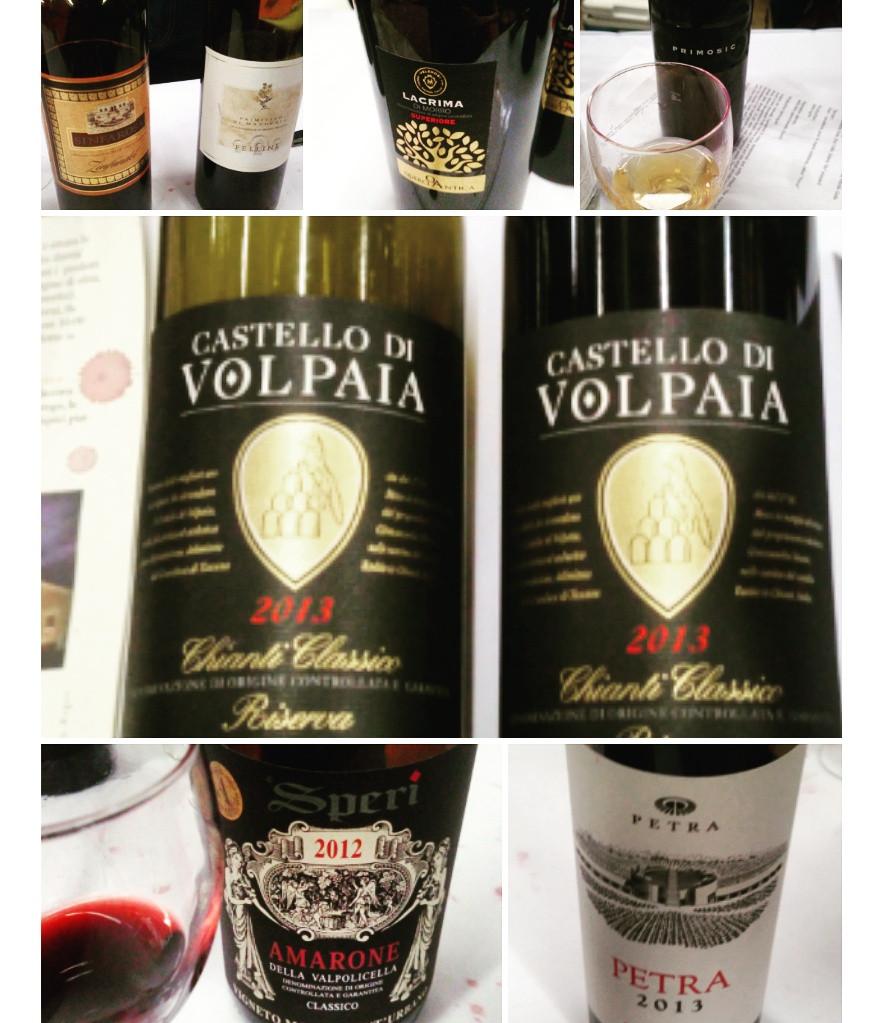 Дегустация вина Gambero Rosso