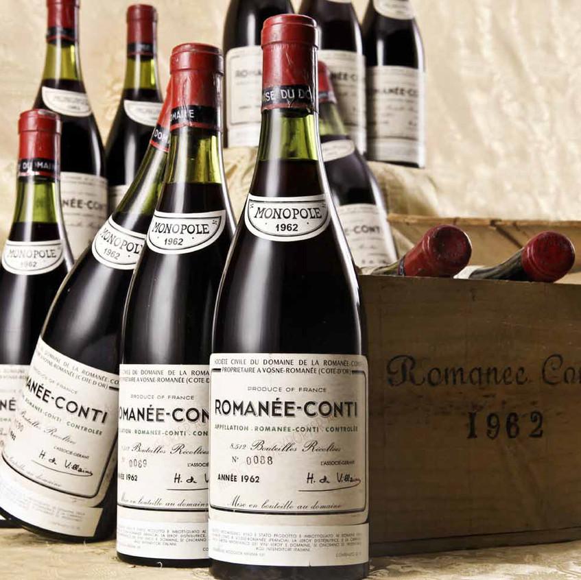 Самое дорогое красное вино из Бургундии, сорт Пино Нуар