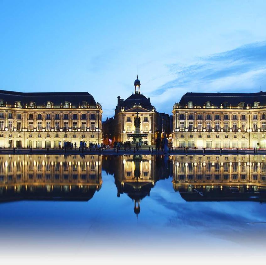 Дегустации вин в Бордо проходит почти везде, также в главном здании Биржи некоторые залы отводятся под дегустацию