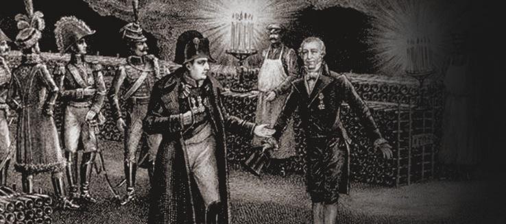 Наполеон и Рэми Моэ в погребах