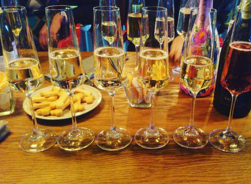 На дегустации игристых вин Просекко Вальдо