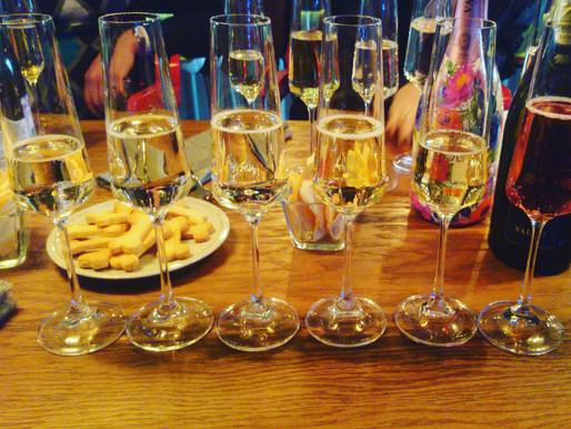 На дегустации игристых вин Просекко Вальдо.