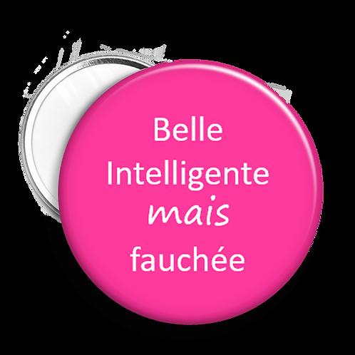 """Miroir """"Belle, intelligente..."""""""