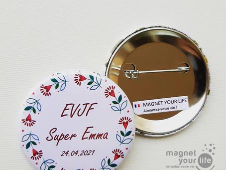 Badges EVJF