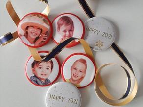magnets personnalisés pour noël