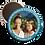 Thumbnail: magnet religieux :Texte + Photo + contour de couleur