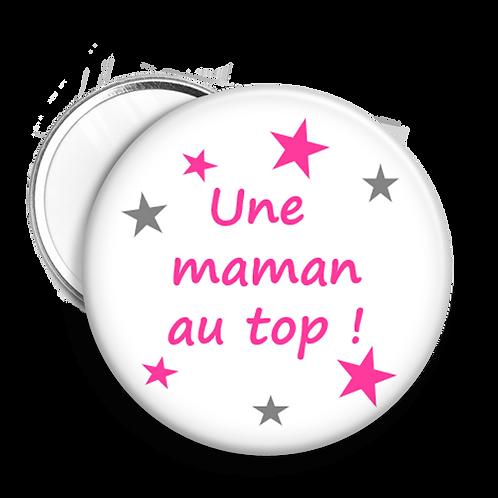 """Miroir """"une maman..."""""""